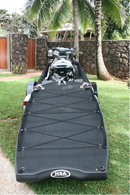 Making a rescue sled for a waverunner?